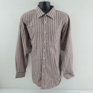 Jos A Bank Dress shirt Signature XL B1